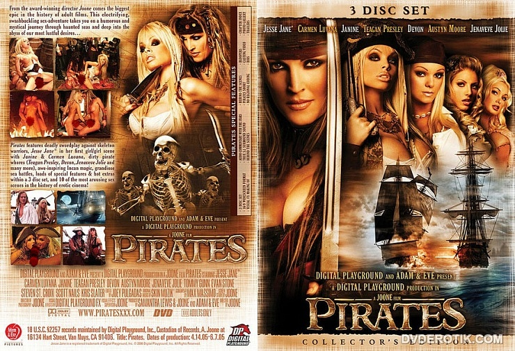 Digital Playground: Pirates